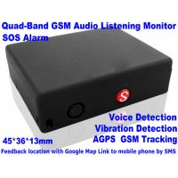 Cheap Global Indoor Outdoor GSM LBS Tracker Spy Audio Listening Bug W/ SOS Alarm & 2-Way Calling wholesale