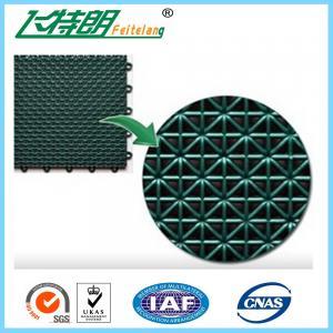 Buy cheap Futsal Interlocking Rubber Floor Tiles Polypropylene Exercise Floor Mats from wholesalers