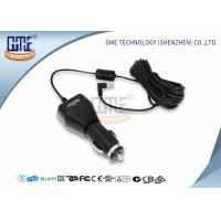 Cheap Switching USB Car Charger Universal AC DC Adapter 5V 1A / 2.1A / 2.4A for sale