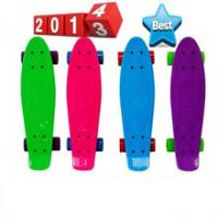 Cheap Fashionable 22 inch plastic retro cruiser skateboard for Christmas for sale