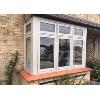 Cheap Horizontal Open French Casement Windows with Aluminium Alloy Frame for sale