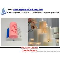 Cheap white pillar candle factory China factory supply candle making best price for sale