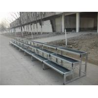 Folding 6061 Aluminum Choir Stage , Anti - Slip Stage Seated Choral Risers