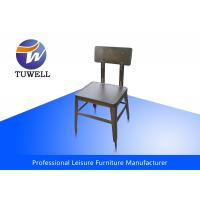 Cheap Armless Heavy Duty Ergonomics Steel Dining Chairs With Welding Structure for sale