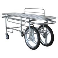 Cheap Full stainless steel stretcher trolley ( patient trolley) for sale