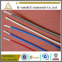 Cheap Top quality Color PVC/Nylon/TPU/PE 7x7 coated  Steel Wire cable china factory for sale