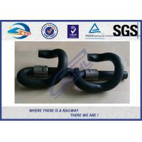 Cheap Customized E Type Elastic Rail Clip For Railway System , SGS ISO9001 Approval for sale