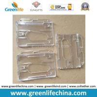 Double Cards Type Plastic Transparent Clear ID Business