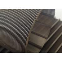 Buy cheap 0.1mm Slot Rotary Wire Mesh Cylinder 76mm Diameter For Wastewater Treatment from Wholesalers