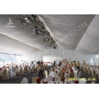 Cheap 20m Width Outdoor Event Tents , Full Decorations Large Tents For Outdoor Events wholesale