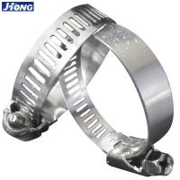China American / German Type Stainless Steel Hose Clamps Pipe Metal Tie Higher Torque on sale