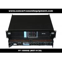 Buy cheap Line Array Sound System / FP 10000Q Switch Mode Amplifier Fixed With NEUTRIK Connectors from Wholesalers