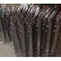 China New Design Polished/Hairline/Stain Finish 304 Stainless Steel baluster Corridor Glass Stair Handrail on sale