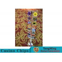 Cheap Casino Acrylic Poker Chips Case Casino Chips Carrier For Round 40 - 42mm Chips for sale