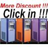 Buy cheap 【Factory Direct Sale】Soft Ice Cream Machine 3 Colors Frozen Yogurt machine. from wholesalers