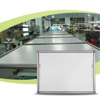 Cheap High quality china interactive whiteboard office and school magnetic whiteboard with steel frame for sale
