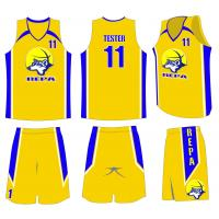 China Custom Sublimation Basketball Uniforms Design For Youth Team on sale