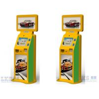 China Advertising Machine Dual Touch Screen Free Standing Kiosk With Movie Ticket Printer on sale