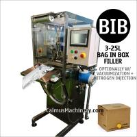 Cheap Semi-automatic Liquid Egg Vacuumized Nitrogen Injected Bag in Box Filling Machine for sale