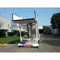 Cheap Flexible Aircraft Passenger Stairs , Steps To Boarding A Plane Easy Maintain for sale