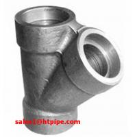 Cheap ASTM B564  UNS N04400 UNS N06600  nickel alloy forged socket welding sw tee  ASME B16.11 wholesale