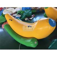 Cheap Interesting 2 Seats Inflatable Banana Boat / Inflatable Water Seesaw for sale