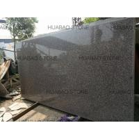 Cheap Chinese pink granite G664 slab tiles polished flamed for wall countertop stairs for sale