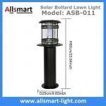 Cheap 12LED 60cm 24Inch Height Black Sensor 2500mAh Westinghouse Solar Bollard Lawn Light Landscaping Yard Driveway Lamp for sale