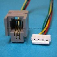 oem odm rj45 modular connector to rj11 rj12 wiring and data flat cable for telephone