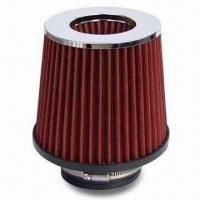Cheap Air Filter, Measures 130 x 125 x Ø76mm, Available in Various Colors for sale