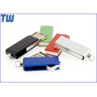 Cheap Tiny Swivel Thumb Drives 16GB 32GB with Free Key Chain and Free Logo Printing for sale