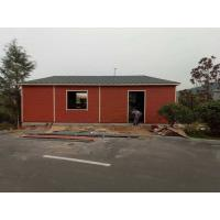China 3 Bedrooms Light Steel Structure Villa 200km / H Wind Resistant Environment Friendly on sale