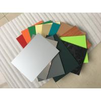 Cheap High Intensity Polyester Aluminium Composite Panel , Aluminum Wall Panels Exterior  for sale