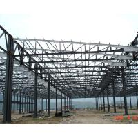 Cheap H Section Lightweight Industrial Steel Structures Fabrication For Steel Column / Beam wholesale