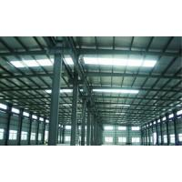 Cheap High Corrosion Resistance Painting Steel Building Workshop , Structural Industrial Steel Buildings for sale