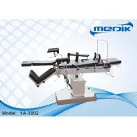 Cheap Trendelenburg Hydraulic Operating Table With C - Arm And X- Ray Photography for sale