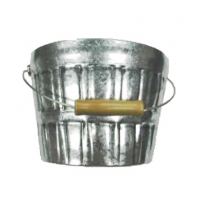 China 0.21mm Thickness CMYK Galvanized Iron Beer Ice Bucket on sale