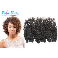 "Cheap Brazilian Spiral Curl 16"" 18"" Grade 6A Virgin Hair 100 Human Hair Extensions for sale"