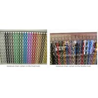 Hanging Double Hooks Aluminum Striple Chain Fly Screen For Door Curtain With Certificate Of