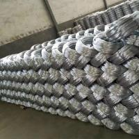 Cheap Zinc coating 0.9mm 20 Gauge Hot Dip Galvanized Iron Wire for Mesh Weaving for sale