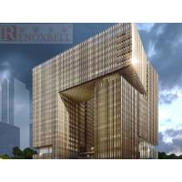Individual Perforated Aluminum Panels For Facade/Curtain Wall