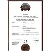 Zhejiang Huiyou Auto Parts Co., Ltd. Certifications