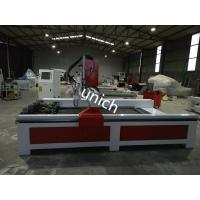 Cheap Stone cnc router machine , cnc granite router with 4 spindle and rotary , cast iron bed for sale