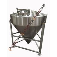 Cheap 78KG Capacity Home Brew Equipment Stainless Steel Grist Case wholesale