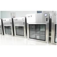 Cheap Customized SUS304 Dynamic Cleanroom Pass Box For Pharmaceutical GMP Workshop for sale