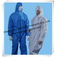 China Anti - Static Disposable Surgical Gowns Industry Chemical Resistant Coveralls on sale