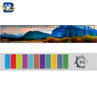 Quality 3d Or Flip Change Custom Printed Plastic Rulers For Kid Stationery wholesale