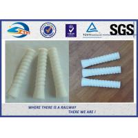 Quality SDU35 HDPE Dowel Plastic And Rubber Part Used In W14 Rail Fastening System wholesale