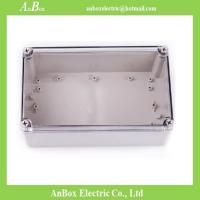 Cheap 250*150*100mm Clear Waterproof Box weatherproof box for outside cable connections for sale