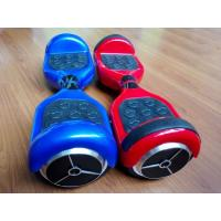 Buy cheap Free Inflatable Hollow Tire 2 Wheel Balance Scooter , Electric Drift Board With LED from Wholesalers